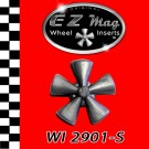 WI 2901-S Classic Five Spoke Mag EZ Mag Wheel Inserts