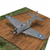1/25 - 1/72 Scale: Linseed Treated Wood Plank Hardstand Model Base Service WII Platform for Aircrafts